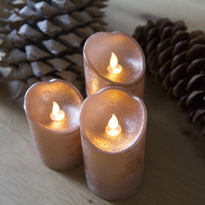 Set-de-3-Bougies-décoratives-de-Noël-LED-cuivre