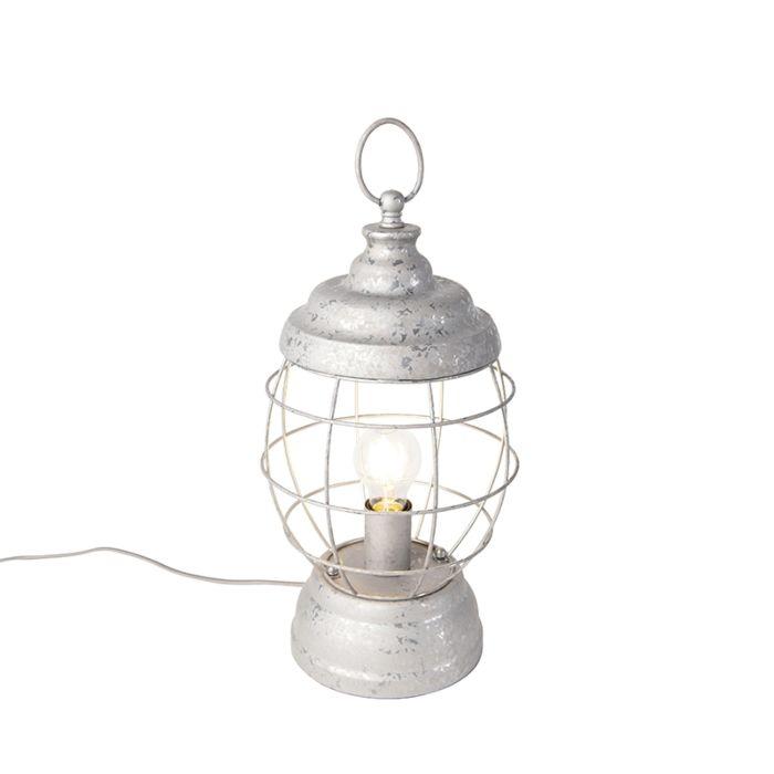 Lampe-de-Table-Country-Gris---Lentera
