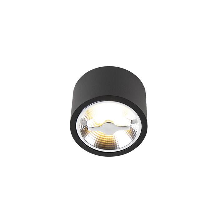 Spot-de-plafond-moderne-noir-AR111-avec-LED---Expert