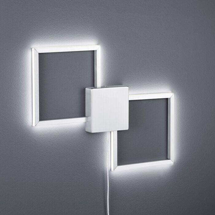 Murale-moderne-LED-en-acier---Carpo