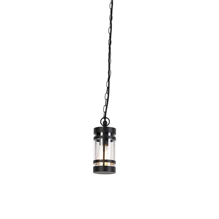 Suspension-moderne-d'extérieur-noir-IP44---Gleam