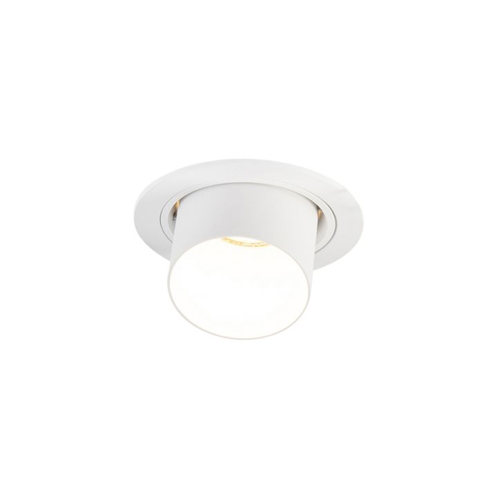 Spot-encastrable-rond-moderne-blanc---Installa