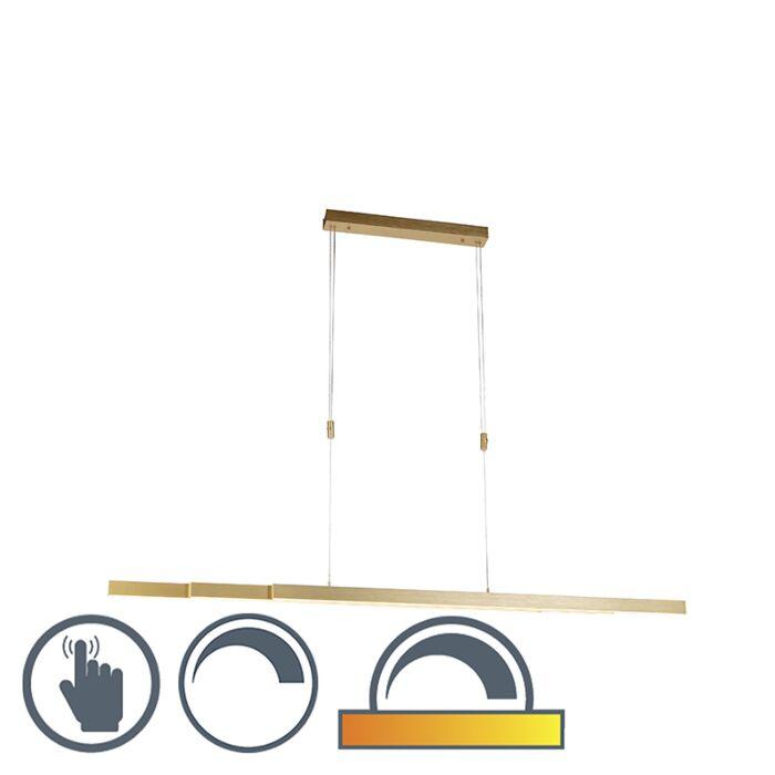 Lampe-à-suspension-réglable-en-laiton,-faible-en-chaleur,-y-compris-LED---Juliet