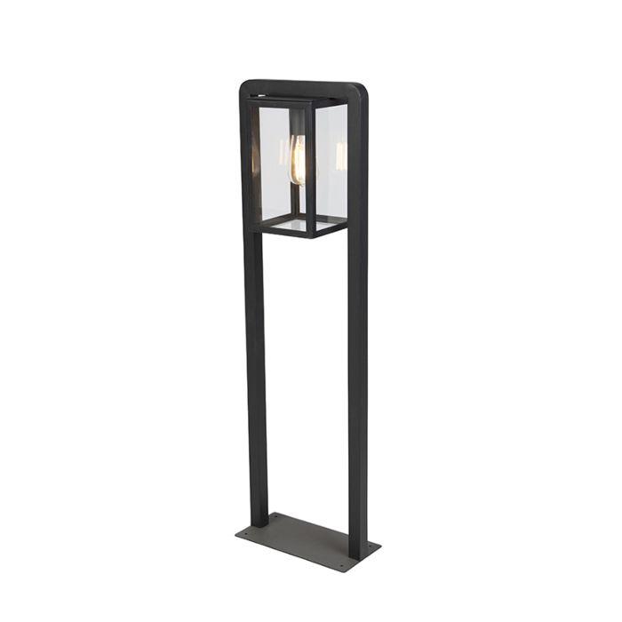 Lampe-d'extérieur-debout-contemporaine-carrée-noire---Jarra-Balanco
